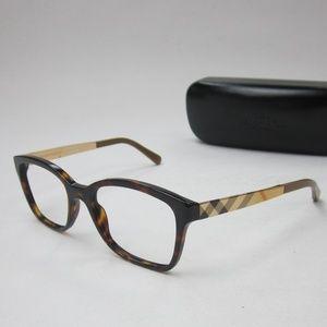 Italy Burberry B2143 3002 Eyeglasses Unisex/OLN141
